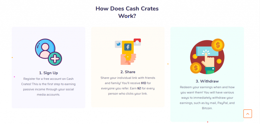 how does cash crates work