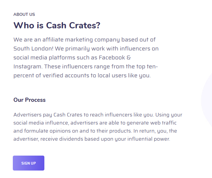 Who is Cash Crates?